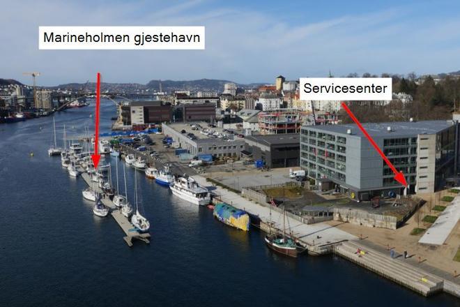 marineholmen bergen kart Marineholmen gjestebrygge   GC Rieber Eiendom marineholmen bergen kart