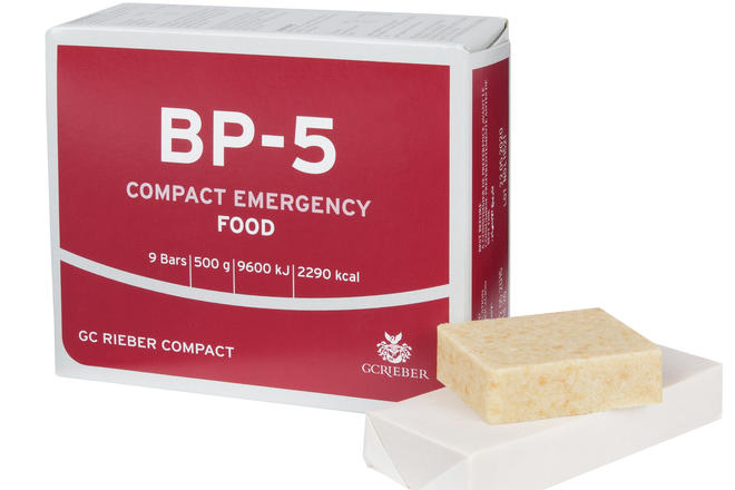 BP-5 packet with food