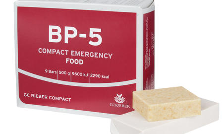 Our preparedness products: BP-5™, Seven OceanS® Emergency Ration and Water and eeZeeBAR™