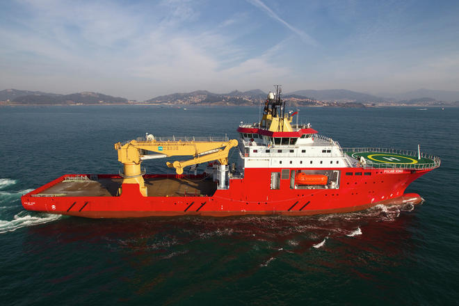 Polar King subsea vessel