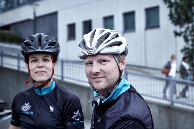 Informasjon til syklister hos GC Rieber Eiendom