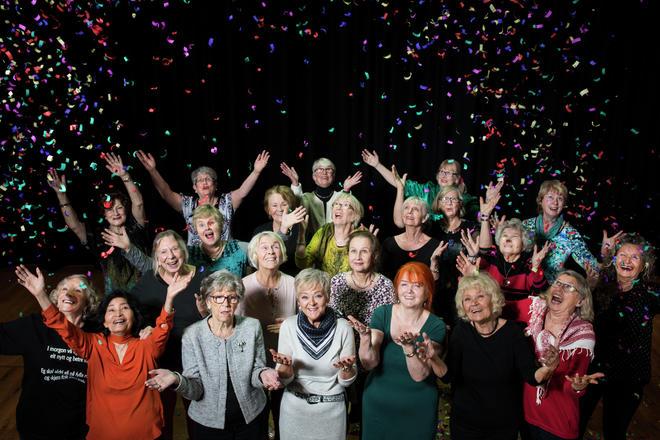 Foto. Thor Brødreskift. Dansegruppen Patina.