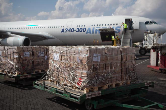 Nairobi, Kenya BP-5™ Offload, Airbus A340
