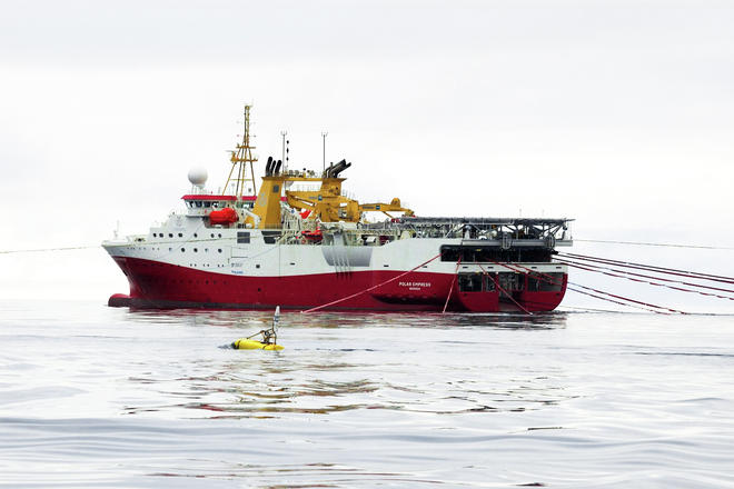 Polar Empress seismic vessel