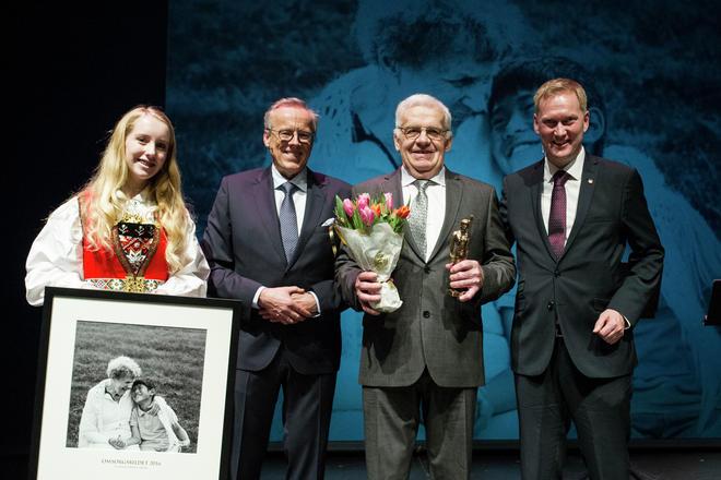 Vinner av omsorgsprisen 2016, Oddvin Heimvik Utåker