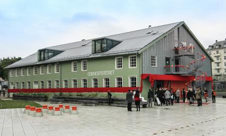 Cornerteateret på Marineholmen i Bergen