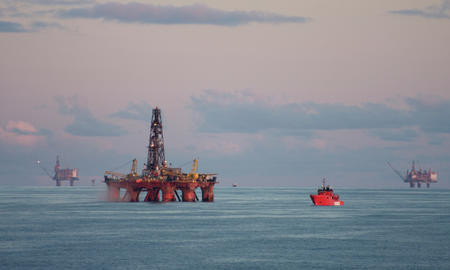 oil industry and oil rig