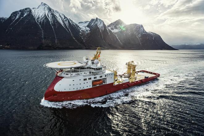 Polar Onyx subsea vessel