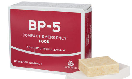 BP-5™ packet with food