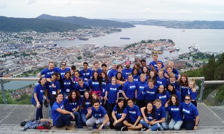 Glade deltakere på CISVs sommerleier 2016