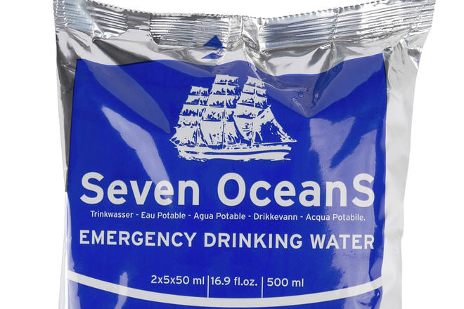 Seven OceanS Emergency Drinking Water packet