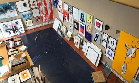 Åpent galleri og atelier hos  Ingri Egeberg