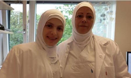 Palestinske sykepleierstudenter