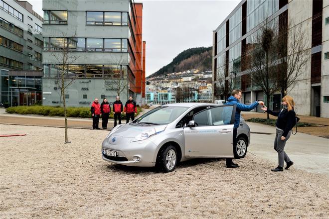 Hos GC Rieber Eiendom kan du leie elbil, nå også privat.