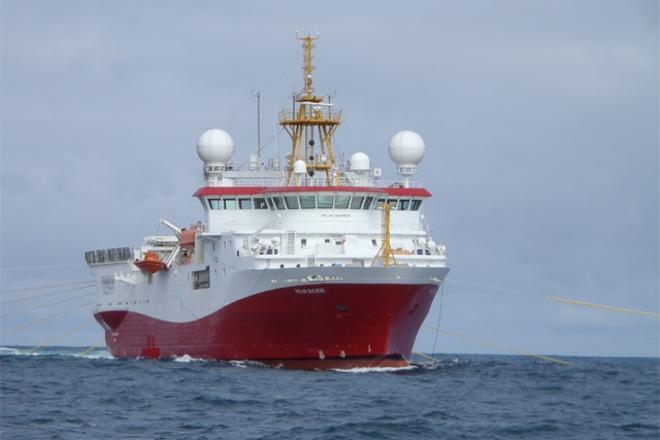Polar Duchess seismic vessel