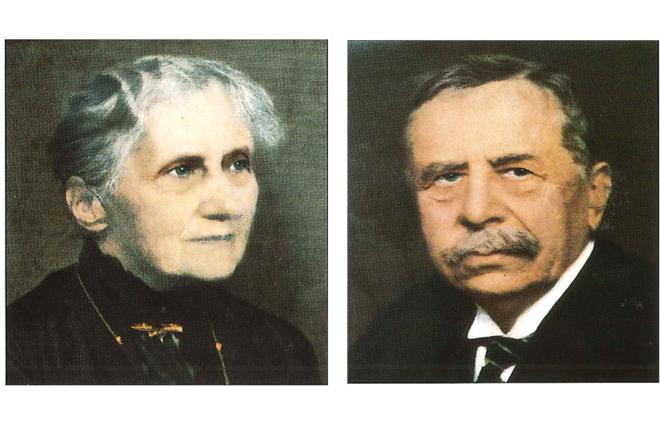 Fondets grunnleggere, Emma og Gottlieb Christian Rieber