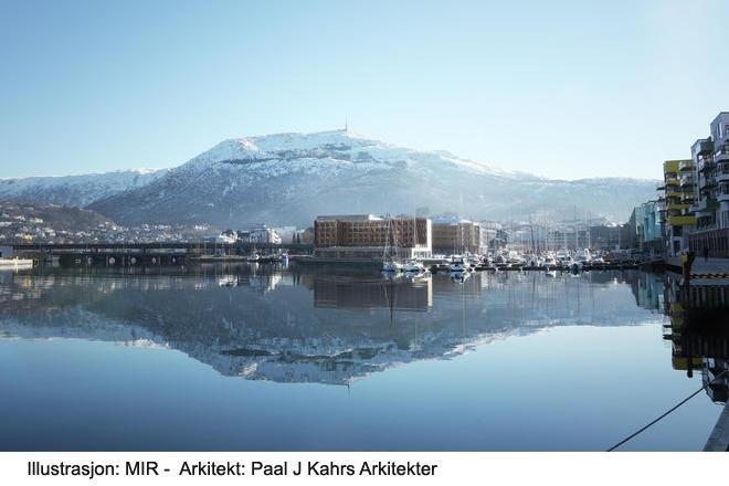 Illustrasjon av MIR / Paal J Kahrs Arkitekter